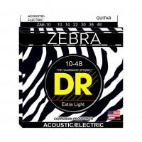 DR STRING  ZAE-10 | Dr Strings Zebra Calibres 10-46