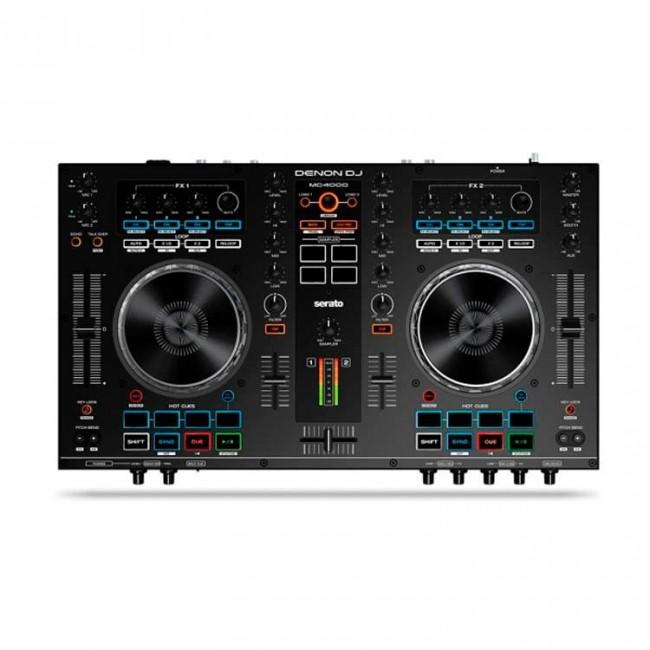 Denon Dj MC4000 | Controlador DJ con dos decks compatible con Serato DJ