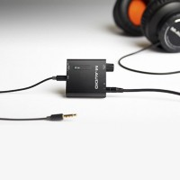M-AUDIO BASSTRAVELER   Amplificador Auriculares 2 Tomas Plug