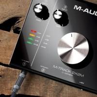 M-Audio MTRACK2X2   Interfaz de Audio USB 2 Entradas / 2 Salidas