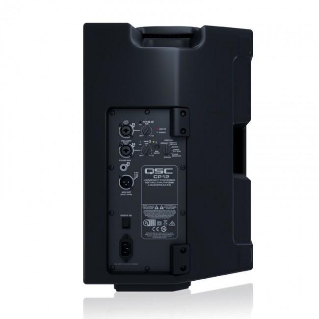 "QSC CP12 | Bafle amplificado compacto de 12"" de 1000w Clase D"
