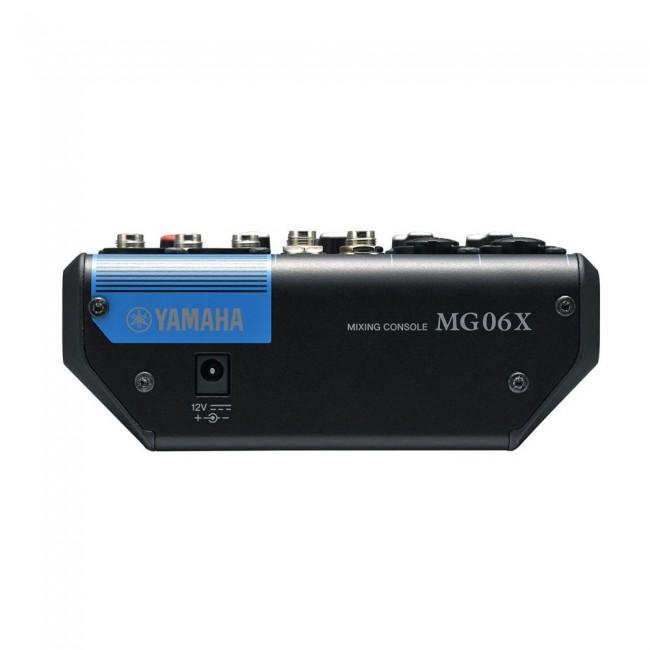 YAMAHA MG06X   Mezclador de 6 canales