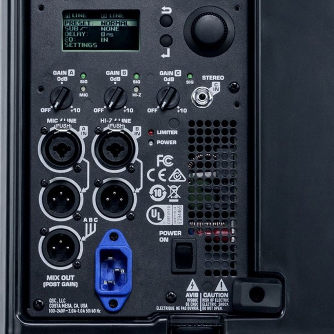 "QSC K12.2 | Bafle amplificado de 12"" Clase D"