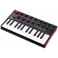 Akai MPKMINI-MK2   Teclado controlador MIDI USB de 25 notas
